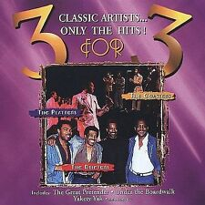 3 for 3 CD The Platters The Drifters The Coasters The Great Pretender Yakety Yak