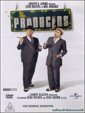 The PRODUCERS (Gene WILDER Estelle WINWOOD) Mel BROOKS Comedy Film DVD Region 4