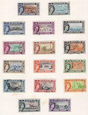 Bahamas 1954 definative QE2 set fine used