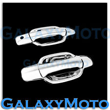 05-12 GMC Canyon Triple Chrome Plated ABS 2 Door Handle W/O PSG Keyhole Cover
