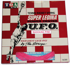 SUPER LEOINA U.F.O. POWER CENTER TENNIS STRING (PINK) NEW IN PACKAGE