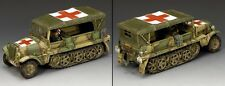 KING AND COUNTRY WW2 Demag Ambulance WSS230 WS230