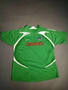 CABOVERDE National Team Football Rare Shirt Jersey Green
