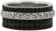Piaget White Gold Possession Eccentric Movable with Diamond Onyx Ring