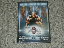 Joe Weider's Olympia Fitness and Performance Weekend 2015 DVD - New & Sealed!