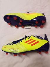 NUOVO Adidas f50 Adizero TRX FG Pelle UK 8 UE 42 Scarpe Calcio TUNIT ACE Predator