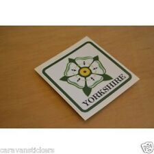 Car Caravan Window Yorkshire Rose Sticker Decal Graphic - SINGLE