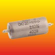 0.033 uF 33 nF 400 V LOT OF 3 PAPER IN OIL PIO AUDIO CAPACITORS K40Y-9 К40У-9