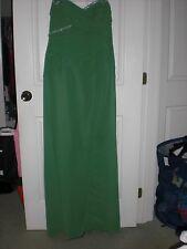 Sophia Tolli Green Prom Dress Size 14 NEW!