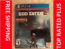 God Eater 2: Rage Burst (Sony PlayStation 4, 2015)  USA version BRAND NEW