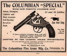 1897 AD  COLUMBIAN FIRE ARMS MFG CO SPECIAL .32 .38 CALIBRE POLICE DEPT