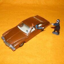 VINTAGE 1975 CORGI 290 KOJAK BUICK REGAL CAR VEHICLE NEAR COMPLETE + FIGURE