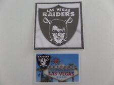 LAS VEGAS RAIDERS, ELVIS STYLE (The King), Sticker & Welcome to LV Fridge Magnet