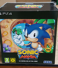 Sonic Mania Collectors Edition PlayStation 4 PS4 Neu & OVP Limitiert
