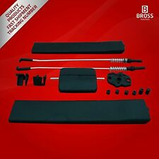 Side Sliding Window Glass Latch Cover Repair Set for VW T6 2014-On