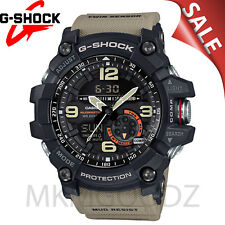 NEW G-Shock Men's Analog-Digital Mud Master Tan Resin Strap Watch - GG1000-1A5