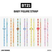 Official LINE FRIENDS BT21 Baby Figure Strap Phone Grip Holder KPOP Goods