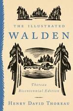 The Illustrated Walden: Thoreau Bicentennial Edition von Henry David Thoreau (Gebundene Ausgabe)