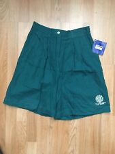 VTG 90s ~ WOMEN'S REEBOK GOLF BERMUDA SHORTS ~ NEW WITH TAGS ~Size 10 ~Dark Jade