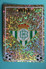 PANINI Liga 96/97 BETIS BADGE MINT!!!