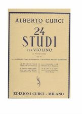 CURCI 24 STUDI OP 23 IN 1° POSIZIONE PER VIOLINO