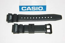 CASIO SGW-300H-1AVH Original SGW-300 Black Rubber Watch BAND Strap SGW-400