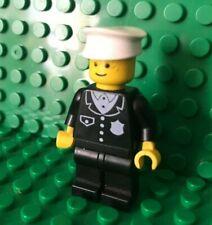 LEGO 2X CAPPELLO POLIZIOTTO VIGILE BIANCO 3624 MINIFIGURE POLICE