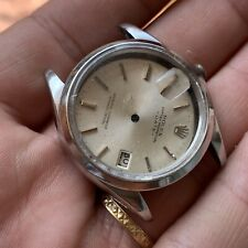 Rolex 1500 Project Complete Case With Glass Dial Calendar And Trim Steel Rare