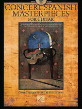 Concert Spanish Masterpieces For Guitar Standard Notation & Tab Book NEW!
