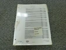 Case Maxi Sneaker Series C Trencher Shop Service Repair Manual Book Rac 8-99750
