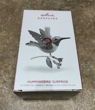 2018 Hallmark Hummingbird Surprise Beauty of Birds Christmas Ornament