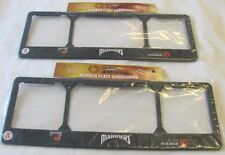 CENTRAL COAST MARINERS SLIM LINE PAIR LICENCE NUMBER PLATE FRAMES A LEAGUE