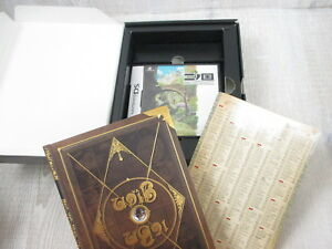 NI NO KUNI Shikkoku no Madoushi Game Book w/Nintendo DS & Magic Master 2010 Ltd