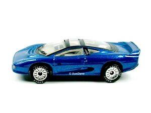 MATCHBOX / Jaguar XJ220 (Metallic Blue) / PREMIERE COLLECTION.