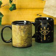 Official The Legend Of Zelda Sheikah Eye Heat Change Mug Tea Coffee Cup