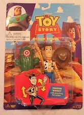 """Toy Story Thinkway """"Fighter"""" Woody Action Figure!"""