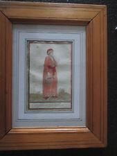 GRAVURE AQUARELLÉE XVIII éme PAR GRASSET ST SAUVEUR. ISLE DE FINNE.