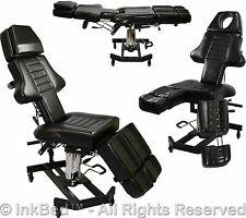 InkBed Hydraulic Client Tattoo Massage Bed Chair Table Ink Bed Studio Equipment