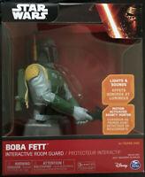 Star Wars Boba Fett Interactive Room Guard Figure GIFT IDEA NEW Rare UK Sounds