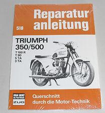 Reparaturanleitung Triumph Bonneville T100 / T90 / 5 TA / 3 TA / 350 / 500