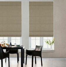 GLOWE Cordless Fabric Roman 30-Inch x 72-Inch Shade in Toast