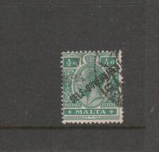 Malta 1922 self Govt Crown CA 1/2d Used SG 106