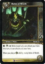 WOW Helm of Wrath 13/33 ONYXIA NEW MINT FOIL ENG WORLD OF WARCRAFT EPIC