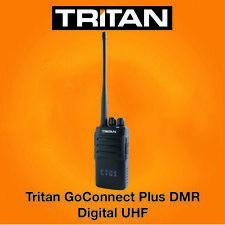 TRITAN Goconnect-Plus Dmr Numérique Uhf 5 Watt Talkie-Walkie Radio X 1