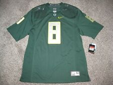 Oregon Ducks #8 (Marcus Mariota) 2014 Green Mens Large Nike Limited Jersey