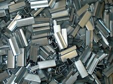 """PAC STRAPPING METAL STRAPPING SEALS FOR 1/2"""" POLY BANDING 241116 GLOBAL 1000 PCS"""