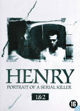 Henry: Portrait of a Serial Killer 1 & 2 NEW PAL Arthouse 2-DVD Set M. Rooker