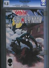 Web of Spider-man # 1 CGC 9.8  White Pages. UnRestored.