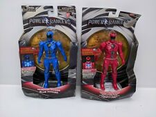 Power Ranger Movie 17.5cm Feature Figures - Blue & Red Set - (Damaged Packaging)