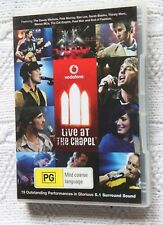 VODAFONE: LIVE AT THE CHAPEL (DVD) R-4, LIKE NEW, FREE POST IN AUSTRALIA